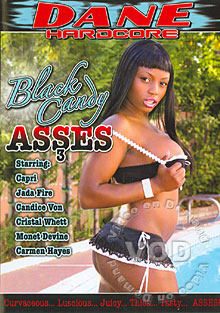 Black Candy Asses 3 Box Cover