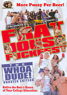 Frat House Fuckfest Box Cover