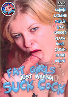 Fat Girls Just Wanna Suck Cock Box Cover