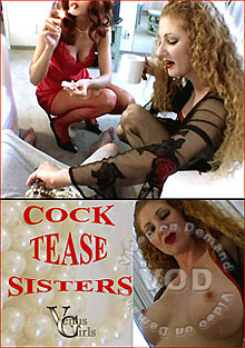Cock Tease Sisters Box Cover