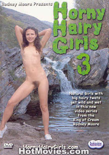 Horny Hairy Girls 3 Box Cover