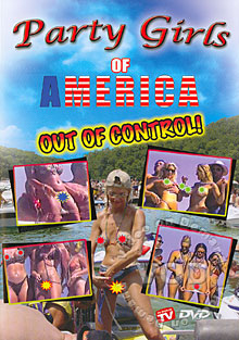 Party Girls Of America - Out Of Control Box Cover