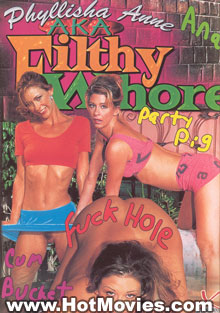 Phyllisha Anne aka Filthy Whore Box Cover