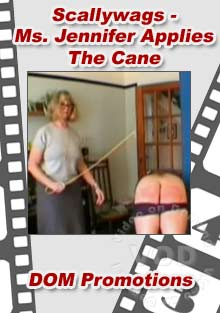 Scallywags - Ms. Jennifer Applies The Cane Box Cover