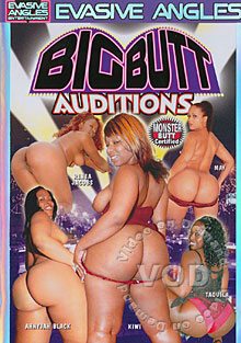 Big Butt Auditions Box Cover