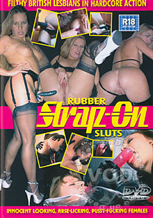 Rubber Strap-On Sluts Box Cover