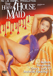 The Horny Housemaid Box Cover