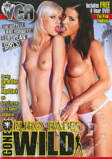 Euro Babes Gone Wild Box Cover