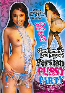 Persian Pussy Party Box Cover