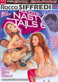 Rocco's Nasty Tails 6 Box Cover - Login to see Back