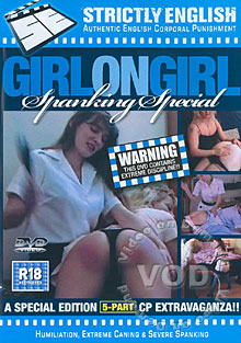 Girl-On-Girl Spanking Special Box Cover