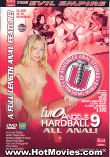 Euro Angels Hardball 9 - All Anal Box Cover