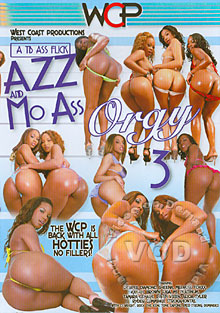 Azz And Mo Ass Orgy 3 Box Cover