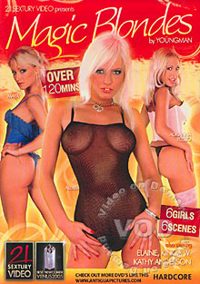 Magic Blondes Box Cover
