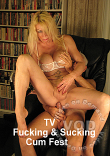 TV Fucking & Sucking Cum Fest Box Cover