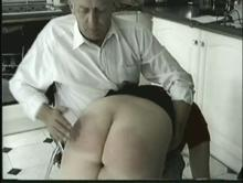Spanking begins