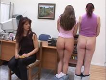 Twp well spanked bottoms