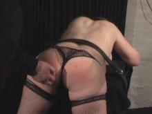 A gentle hand spanking to start - the cane, the g-spot and the orgasm