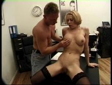 His wandering hands hsve her pleading with  him to spank me, fuck me