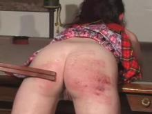 the tawse and a red bottom