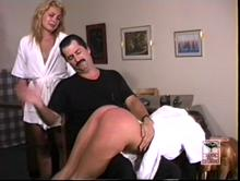 It's Mandy's turn to be spanked on punishment day