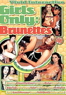 Girls Only: Brunettes Box Cover
