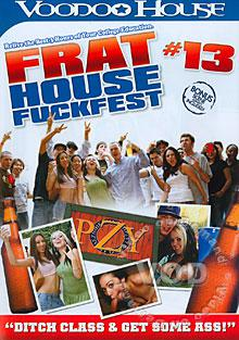 Frat House Fuckfest #13 Box Cover