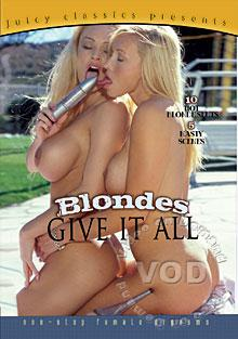 Blondes Give It All Box Cover