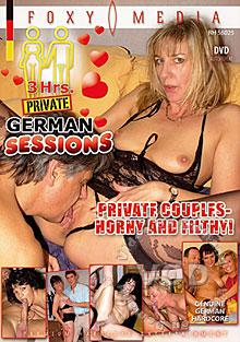 German Sessions - Private Couples Horny and Filthy Box Cover