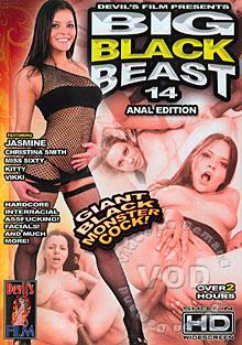 Big Black Beast 14 - Anal Edition Box Cover