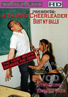 A Tranny Cheerleader Bust My Balls Box Cover