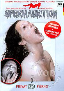 Spermadiction - Submissive Bitches Starving For Cum Coverage Box Cover