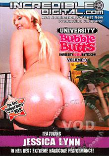 University Bubble Butts Volume 3 Box Cover