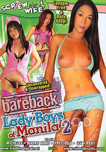 Bareback Lady Boys Of Manila 2 Box Cover
