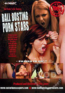 Ball Busting Porn Stars Box Cover