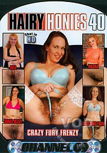 Hairy Honies 40 Box Cover