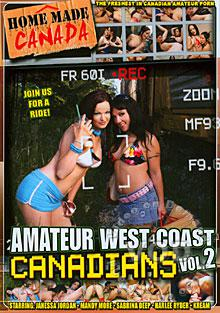 Amateur West Coast Canadians Vol. 2 Box Cover
