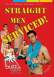 Straight Men Serviced! Box Cover