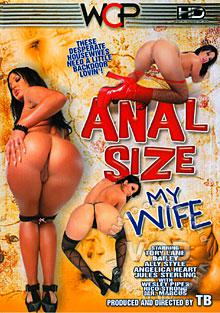 Anal Size My Wife Box Cover