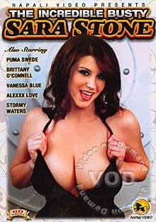 The Incredible Busty Sara Stone Box Cover