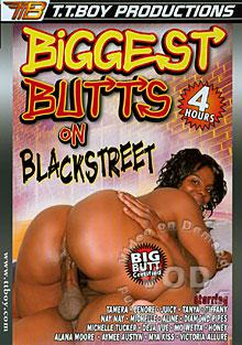 Biggest Butts On Blackstreet Box Cover