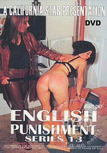 English Punishment Series 13 Box Cover