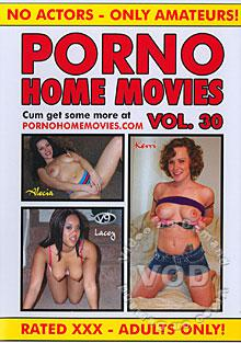 Porno Home Movies Vol. 30 Box Cover