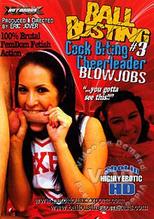 Ball Busting #3 - Cock Biting Cheerleader Blowjobs Box Cover
