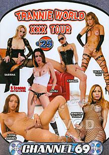 Trannie World XXX Tour 25 Box Cover