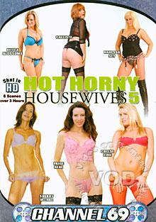 Hot Horny Housewives 5 Box Cover