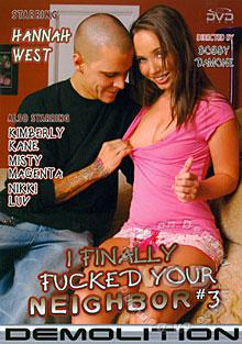 I Finally Fucked Your Neighbor #3 Box Cover