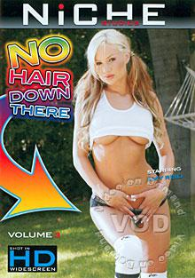 No Hair Down There Volume 3 Box Cover