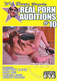 Mr. Sleazy Presents Real Porn Auditions #10