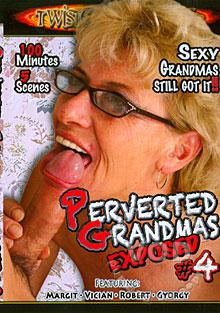Perverted Grandmas Exposed #4 Box Cover